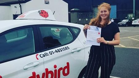 Courtnes Finglas Passed Driving Test