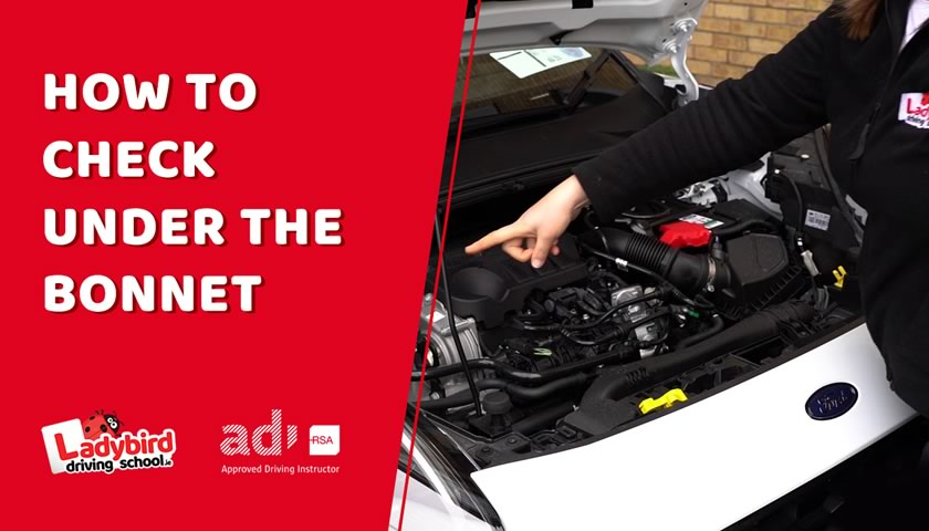 How to Check Under The Bonnet for The Irish Driving Test