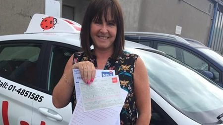 Jackie Finglas Passed Driving Test