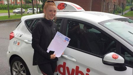Jasmine Blanchardstown Passed Driving Test
