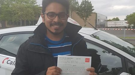Mikhil Tallaght Passed Driving Test