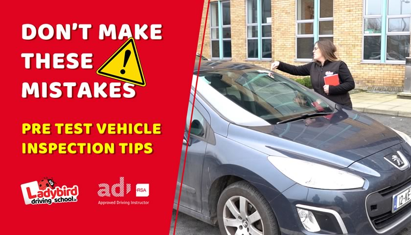 Pre Test Vehicle Inspection Tips for Your Driving Test